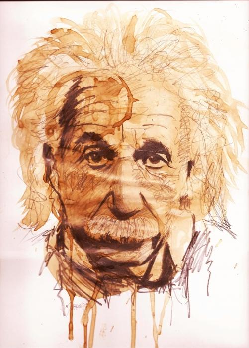 Albert Einstein por gram